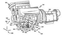 Patent hybridního motoru V8 se dvěma elektromotory, který by se mohl objevit v hybridním Fordu Mustang