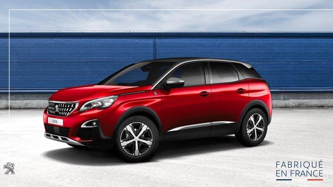 Peugeot 3008: nejvíce vyráběný vůz ve Francii