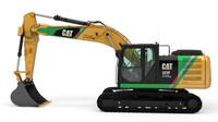 Elektrický bagr Caterpillar 323F Z-Line