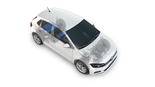Volkswagen Polo TGI s novým uspořádáním nádrží na CNG