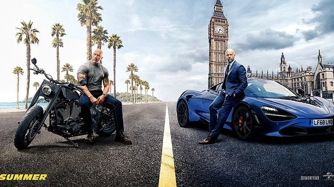 Snímky k filmu Fast and Furious: Hobbs and Shaw