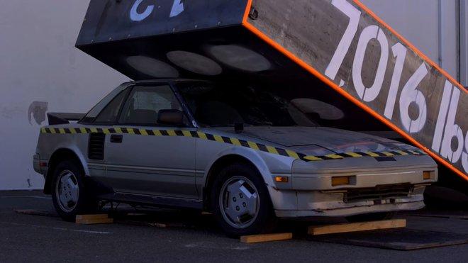Zničená Toyota MR2 v pořadu Mythbusters Jr. se setkala s nevídanou odezvou