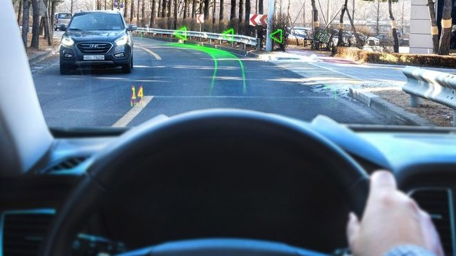 Hyundai a WayRay odhalily první navigační systém na světě, jenž disponuje systémem holografického zobrazování srozšířenou realitou