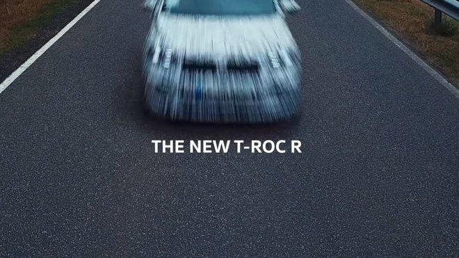 Volkswagen T-Roc během testování na Nürburgringu