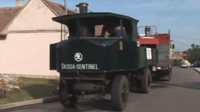 Škoda Sentinel (YouTube/Technické muzeum v Brně)