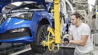 Škoda Auto zahájila sériovou výrobu nového modelu Scala v Mladé Boleslavi
