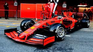 Třetí den testů živě: Vettel znovu na čele, McLaren začal později, Williams se chystá + VIDEO - anotační obrázek