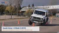 Suzuki Jimny během losího testu (YouTube/km77.com)