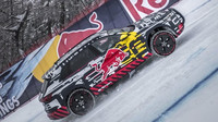 Audi poslala unikátní prototyp na lyžařský svah: Podívejte se, jak zdolal stoupání 85 % - anotační foto