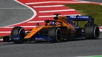 Carlos Sainz první den testů s McLarenem MCL34