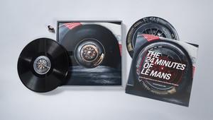 Porsche recyklovalo staré pneumatiky do gramofonových desek, hudbu na nich nečekejte - anotační obrázek
