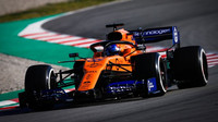 """""""Tvrdá práce se vyplácí."""" McLaren si po 1. dnu testů pochvaluje rychlost i spolehlivost - anotační foto"""
