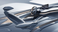 Elektrická Škoda Vision iV nabídne zcela inovativní interiér. Podívejte se na první skicu - anotační foto