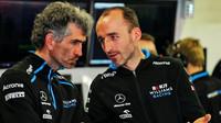 Robert Kubica a osobní trenér Edoardo Bendinelli v Barceloně