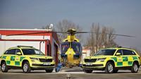 Dvě Škody Kodiaq dostaly záchranářské barvy, pomáhat budou v Královéhradeckém kraji - anotační obrázek