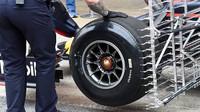 Testování vozu Red Bull při třetím dnu testů v Barceloně