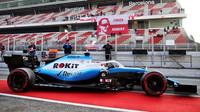 Robert Kubica pooprvé ve voze Williams FW42 - Mercedes při čtvrtém dnu testů v Barceloně