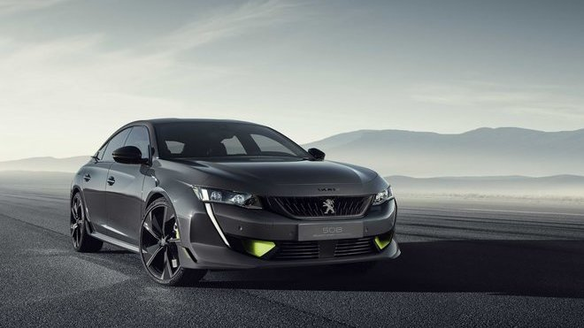 Koncept 508 Peugeot Sport Engineered