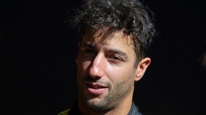 Daniel Ricciardo v Barceloně