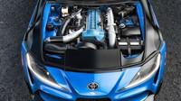 Společnost CX Racing už připravuje konverzní sadu pro instalaci ikonického motoru 2JZ-GTE pod kapotu nové generace modelu Supra (Facebook/CX Racing)
