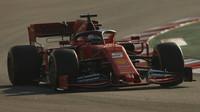 Sebastian Vettel druhého dne druhých předsezonních testů v Barceloně