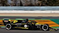 Nico Hülkenberg v rámci druhého dne druhých předsezonních testů v Barceloně