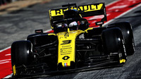 Daniel Ricciardo v rámci druhého dne druhých předsezonních testů v Barceloně