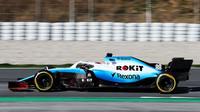 Robert Kubica v rámci druhého dne druhých předsezonních testů v Barceloně