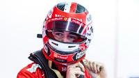 Charles Leclerc v rámci třetího dne druhých předsezonních testů v Barceloně