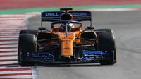 Carlos Sainz v rámci posledního dne druhých předsezonních testů v Barceloně