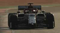 Antonio Giovinazzi  v rámci třetího dne druhých předsezonních testů v Barceloně