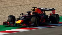 Max Verstappen v rámci posledního dne druhých předsezonních testů v Barceloně