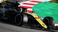 Nico Hülkenberg v rámci třetího dne druhých předsezonních testů v Barceloně