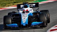 Robert Kubica v rámci třetího dne druhých předsezonních testů v Barceloně