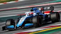 Robert Kubica v rámci posledního dne druhých předsezonních testů v Barceloně