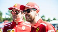 O pořadí rozhodl tým, Leclerc se musel stáhnout a zůstat za Vettelem - anotační obrázek