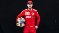 Sebastian Vettel v Melbourne