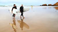 Pierre Gasly s Damonem Hillem zasurfovali v Melbourne