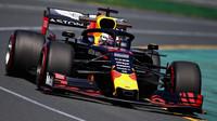 Max Verstappen v tréninku v Melbourne