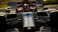 Kimi Räikkönen v tréninku v Melbourne