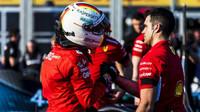 Sebastian Vettel po kvalifikaci v Melbourne