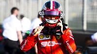 Charles Leclerc po kvalifikaci v Melbourne