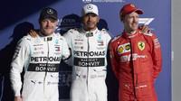 Tři nejlepší jezdci po kvalifikaci v Melbourne
