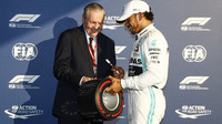 Lewis Hamilton - vítěz kvalifikace v Melbourne
