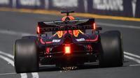 Max Verstappen v kvalifikaci v Melbourne