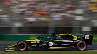 Daniel Ricciardo v kvalifikaci v Melbourne