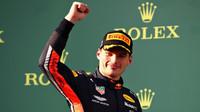 Max Verstappen po závodě v Melbourne