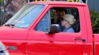 Lady Gaga za volantem Fordu F-150 SVT Lightning (Twitter/@jayjuniorrr)