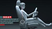 Jaguar se snaží pomoci řidičům s hledáním správné pozice za volantem
