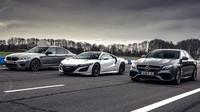 Top Gear srovnal hybridní Hondu NSX s tradičními ostrými německými sedany